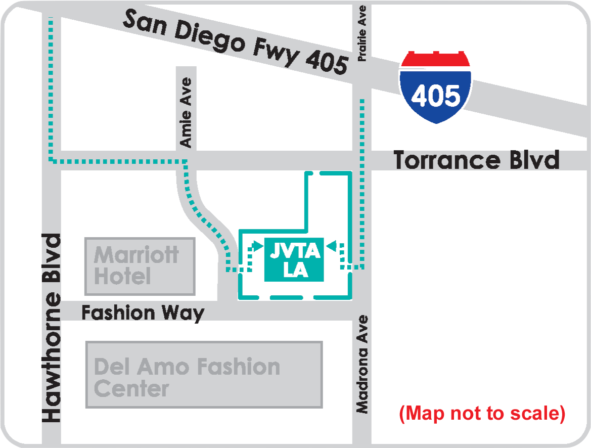 Del Amo Fashion Center Map. My Family Lived On The West Side Of ...